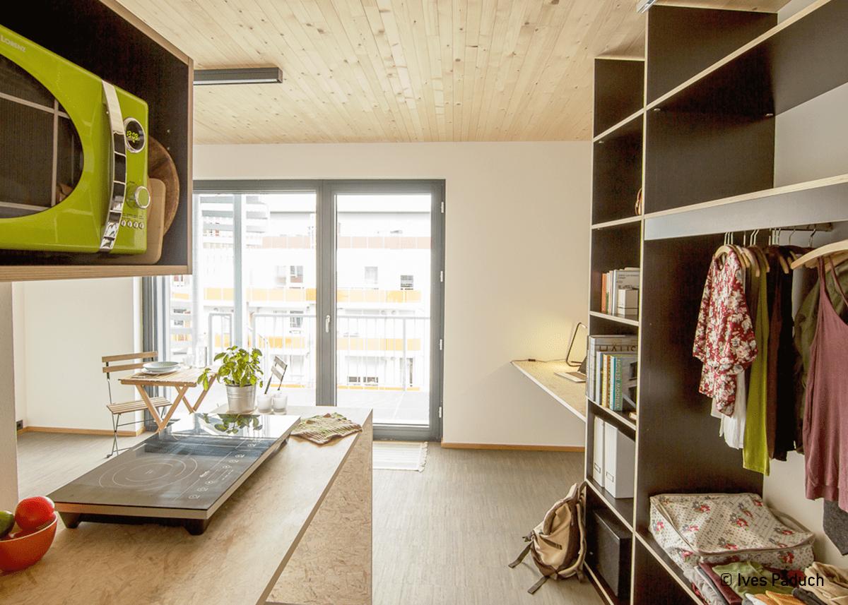 intelligente geb udetechnik in studentenwohnheim hans fischer sanit r heizung energie. Black Bedroom Furniture Sets. Home Design Ideas